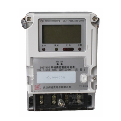 International Standard Approved Singe Phase Multi-Tariff Energy Meter pictures & photos