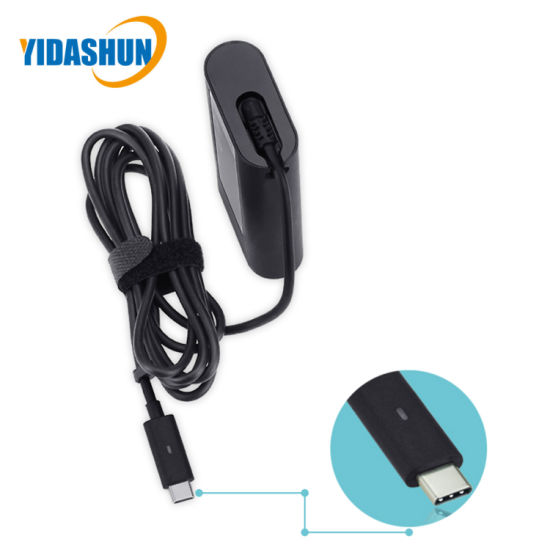 AC 100V~240V AC DC Type-C Adapter for DELL pictures & photos