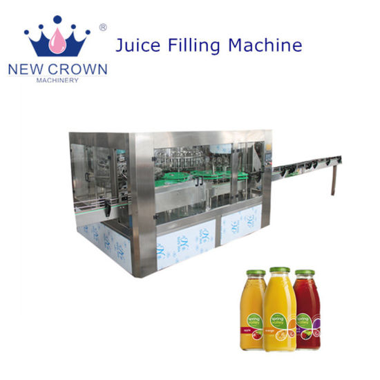 Best Sales Automatic Beverage Bottled Juice Beverage Production Line /High Quality Fresh Fruit Juice Filling Machine