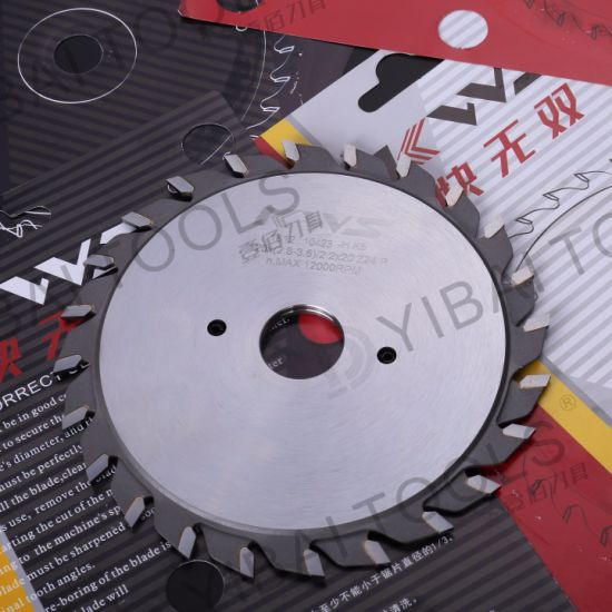 Tct Carbide Adjustable Scoring Saw Blade for Wood pictures & photos
