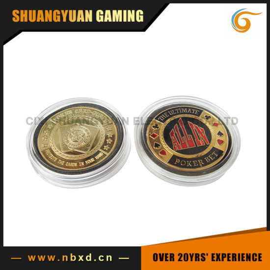 Poker Card Guard, The Ultimate Poker Bet (All In) (SY-G05)