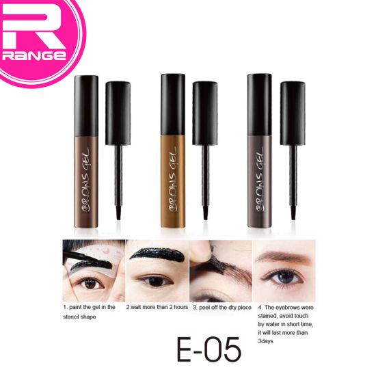 Private Label Long Lasting Peel-off Eyebrow Gel pictures & photos
