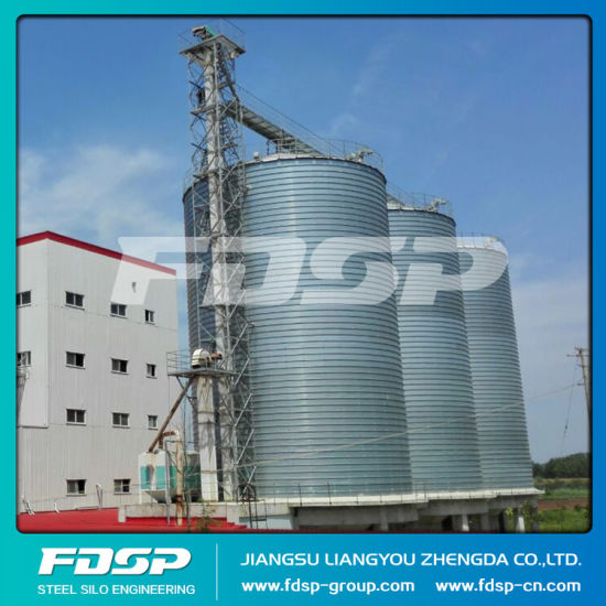 China Most Popular Steel Corn Storage Silo with Basement pictures & photos