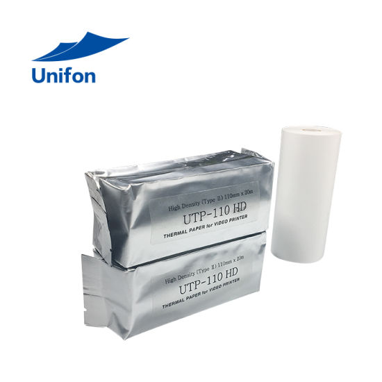110mm*10m Ultrasound Thermal Paper Upp-110HD for Sony Printer