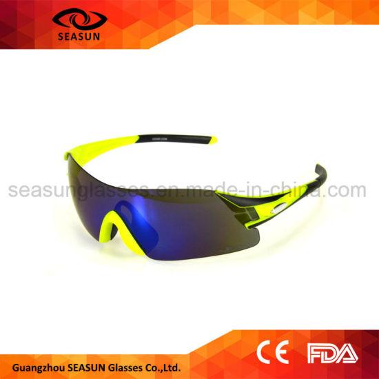 400f9333c7f Men Women Aviators Polarized Mirror Lens Shatterproof Cycling Running  Sunglasses