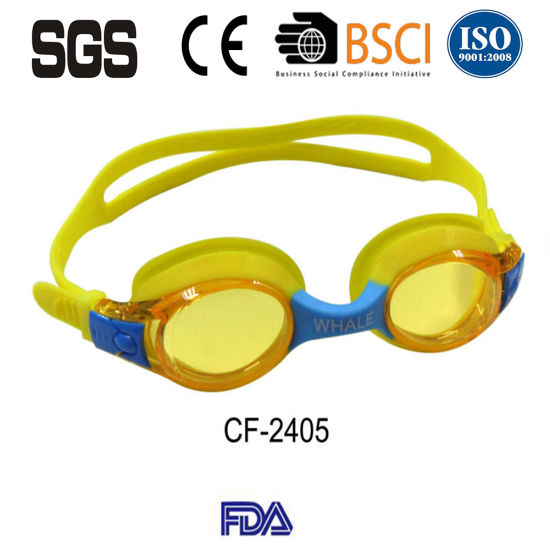 af07e40b5a81 Kids Swimming Goggles with Clear Vision Anti Fog UV Protection No Leak Soft  Silicone Frame and