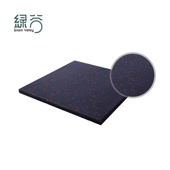 Factory High Quality Shock Absorpiton Gym Rubber Floor Mat High Elastic Rubber Gym Flooring
