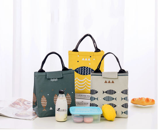 Thermal Insulated Portable Cooler Neoprene Lunch Picnic Tote Storage