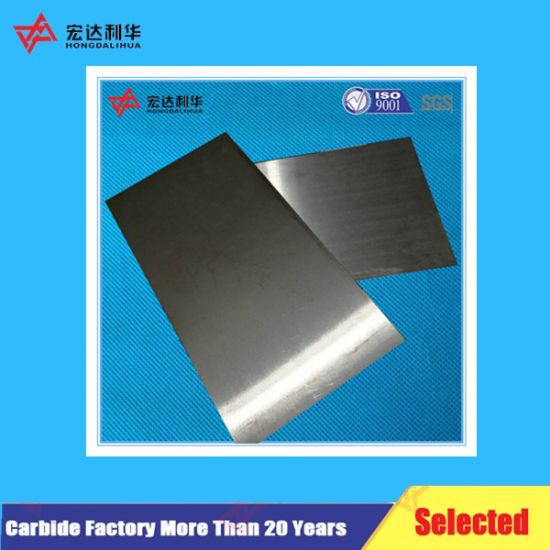 Tungsten Carbide Plates of Board for Power Tool Parts pictures & photos