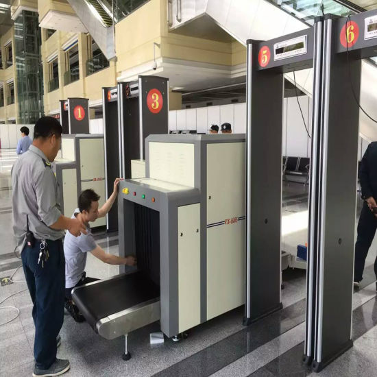 Hotel Security Xray Baggage Luggage Scanner pictures & photos