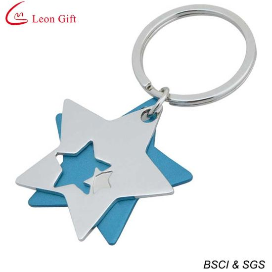 Wholesale Heart Shape Photo Frame Keychain for Gift (LM1761) pictures & photos