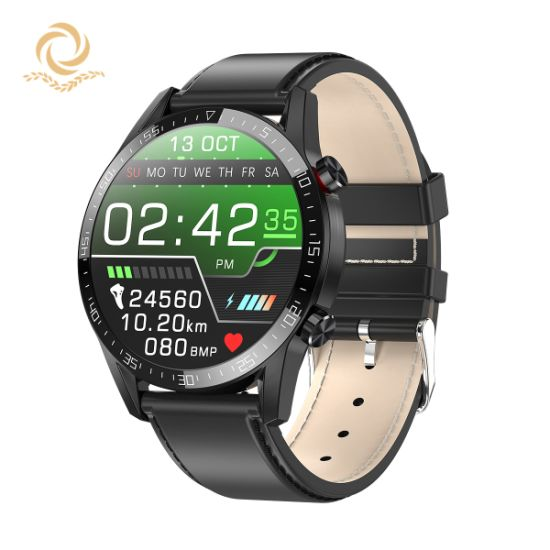 New Model Ce Certificate Bluetooth Call Smart Watch Smart Bracelet Wrist Band 1.3 IPS Full Round Display Heartrate Pedometer