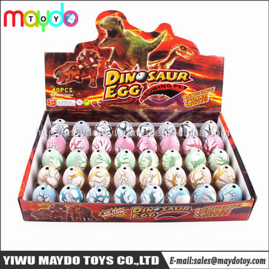 40PCS New Creative Magic Water Growing Hatching Dinosaur Egg Toy for Kids pictures & photos