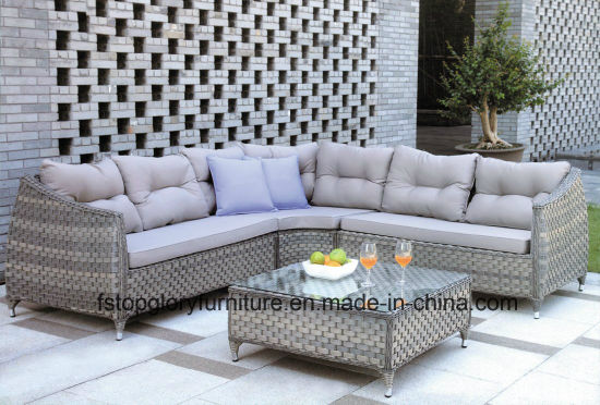 Plastic Garden Sofa, Leisure Sofa, Patio Sofa for Outdoor Furniture (TG-061) pictures & photos