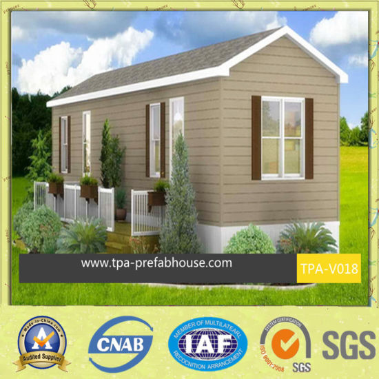 Fire-Proof Prefab Steel House for Family pictures & photos