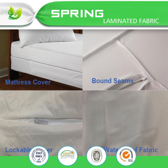 2016 New Ultraguard Mattress Encasement Polyester with Zipper and Buglock pictures & photos