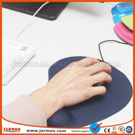 Black Printed Rubber Mouse Pad
