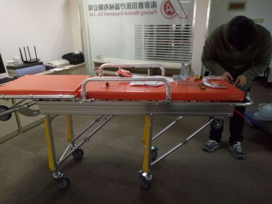 H-3b Hospital Emergency Stretcher, Ambulance Stretcher with Ce Aprroved pictures & photos