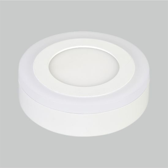 LED Color Panel Light Round Outside 3+2W 6+3W 12+4W 18+6W Ceiling Lamp Manufacturer Price Factory Panel Light