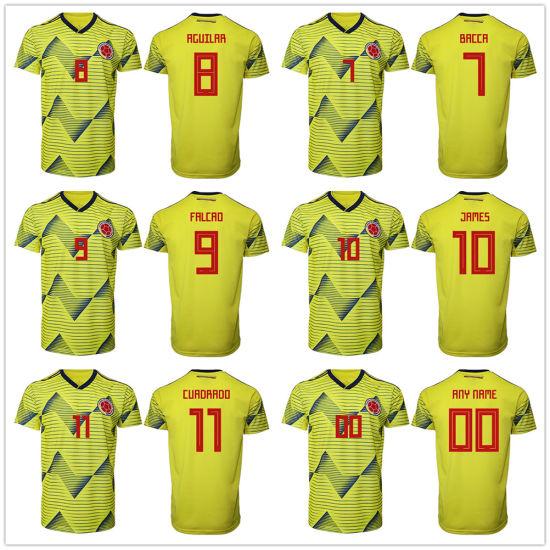 a0787dd8d James Rodrí Guez Colombia National Team Federation Jersey Soccer Jerseys