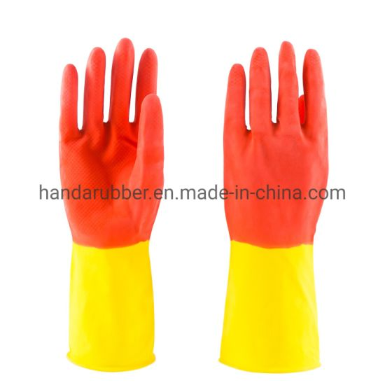 45g Heat Resistant Silicone Cleaning Scrubber Gloves for Kitchenware