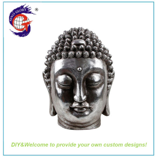 New Arrived Sliver Large Buddha Statue Mold