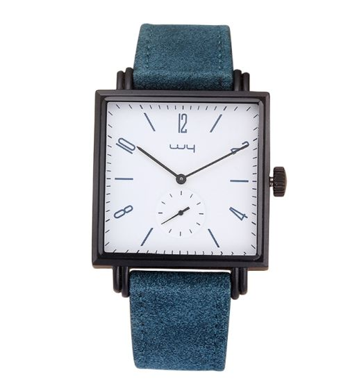 Factory Waterproof Quartz Arabic Digital Casual Business Square Watches Wy-116