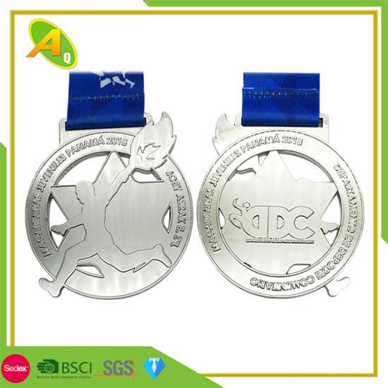 10 Running 21K Running Embossed Logo Medal for Souvenir (281)