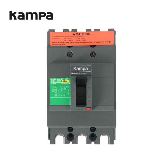 Kampa 63A 3 Pole Easypact Molded Case Circuit Breaker MCCB pictures & photos