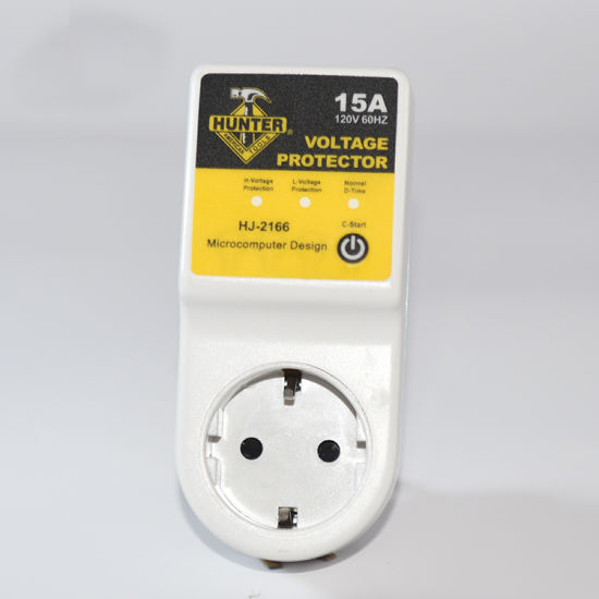 120/230V Under Voltage and Over Voltage Protector with Type F Socket