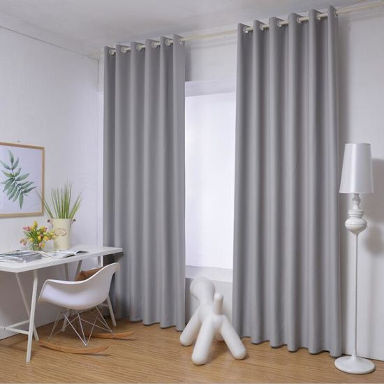 Wholesale Fashion Decorative Washable Blackout Window Curtain for Home Hotel pictures & photos