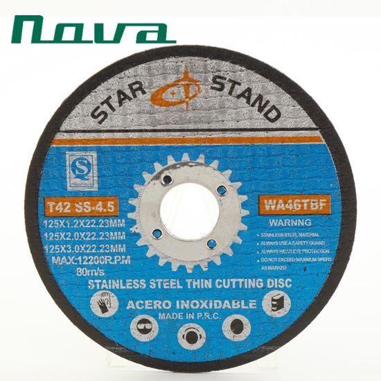 Grinding Polishing Cutting Cut off Abrasive Disc Wheel for Metal Stainless