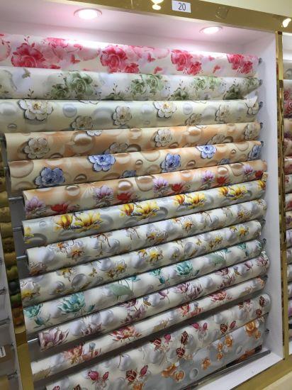 Woven Backing PVC Christmas Tablecloth