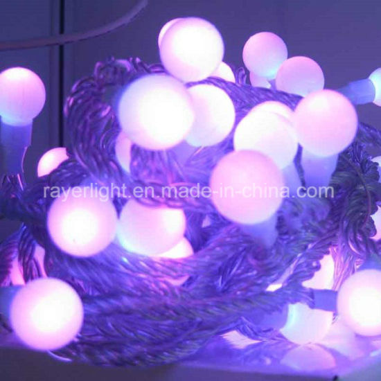 High Quality Outdoor Rgb Color Synchronous Led Christmas Street Light Decoration