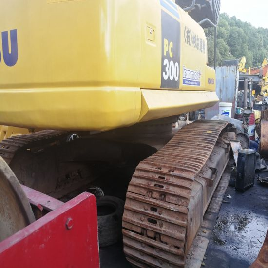Construction Machinery Low Working Hours Japan Used Komatsu PC300-7  Excavator