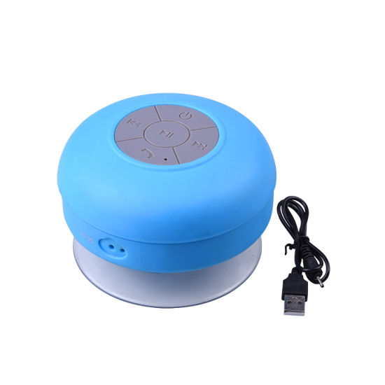 Promotional Mini Ipx4 Waterproof Wireless Shower Sucker Bluetooth Speaker Bts06