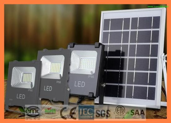 20W IP66 5054 Solar Rechargeable LED Flood Light pictures & photos