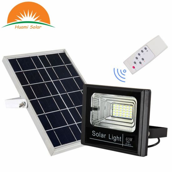 40W Solar Flood outdoor Street Light Maintenance Free pictures & photos