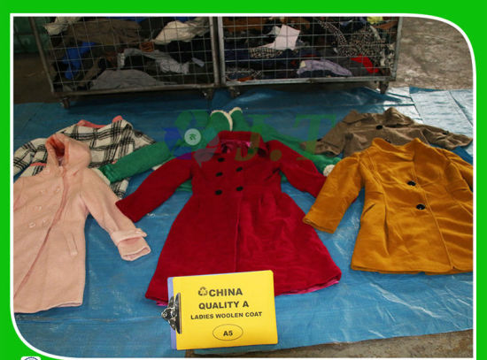 Very Popular Style and Fashion Design Ladies Woolen Coat