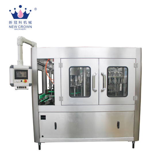 Plastic Bottle Lemon Tea Juice Water Carbonated Soft Juice Beverage Filling Bottling Machine for 6000bph Automatic