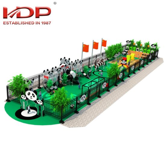 Pandas Theme Children Funny Outdoor Playground Amusement Equipment for Sale pictures & photos
