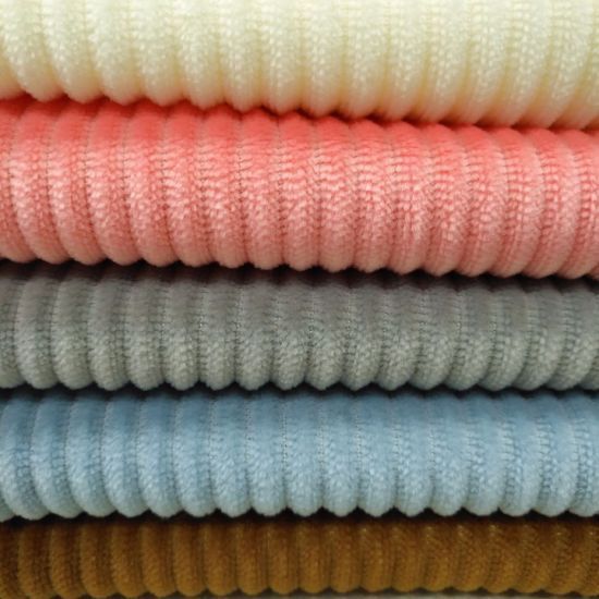 Long Pile Polyester Knitted Flannel Fleece Fabric
