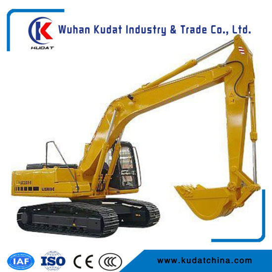 20tons Hydraulic Crawler Heavy Duty Excavator with 1cbm Rock Bucket pictures & photos
