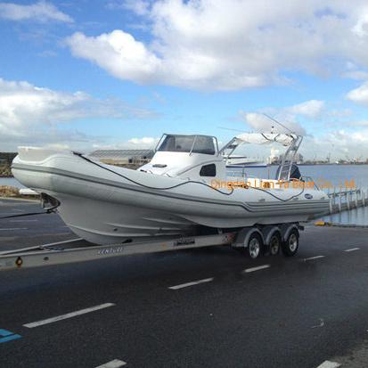 Liya 8.3m Luxury Yacht Cabin Rib Boat Rigid Inflatable Passenger Boat