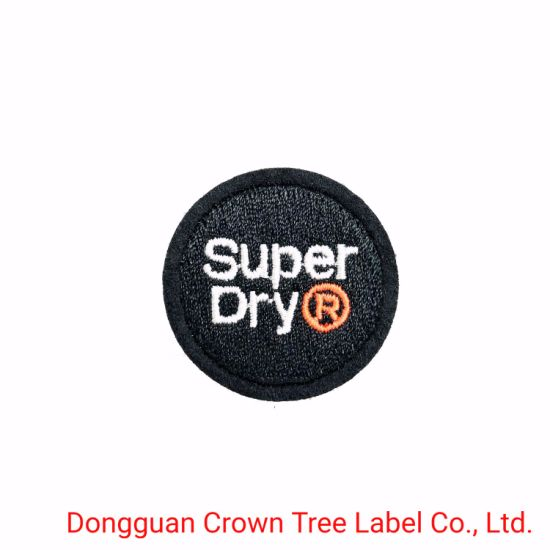 Different Shape Woven Patch with Laser Cutting for Clothing Accessories