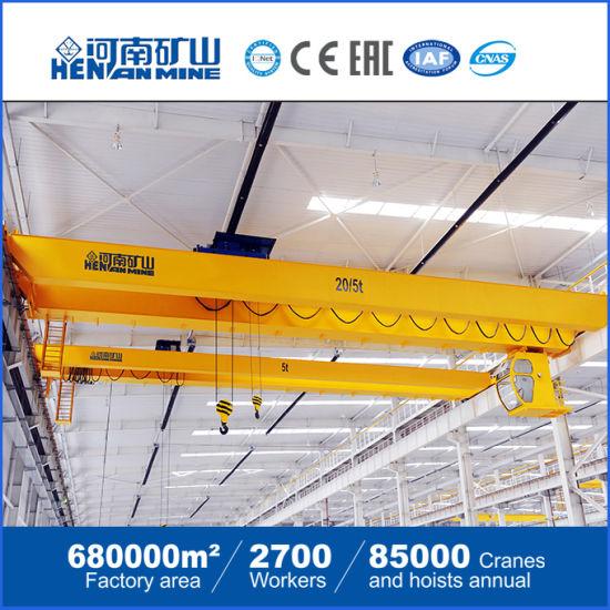 European Model Double Girder Bridge Overhead Crane