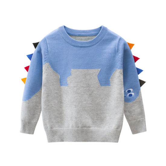 Children's Sweaters Tops Dinosaurs Baby Clothes Fashion Baby Knitwear