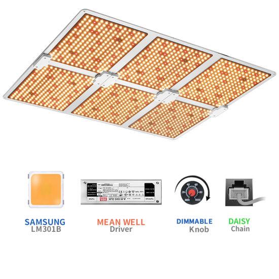 600W Greenhouse Best Light Grow Full Spectrum Samsung 301b LED Grow Light for Indoor Medical Plants