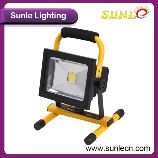 Battery Operated Portable 30W Rechargeable LED Flood Light (SLFL-WT03) pictures & photos