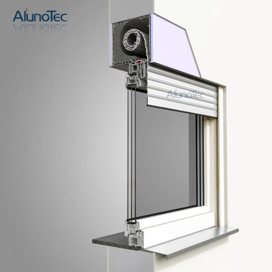 Automatic Security Aluminium Window Roller Shutter pictures & photos